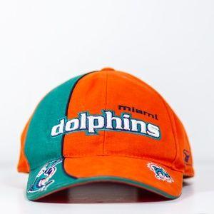 Vintage Miami Dolphins Reebok Pro Line Strapback